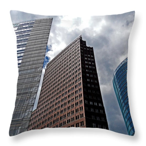 Berlin - Trilogie Throw Pillow by Juergen Weiss