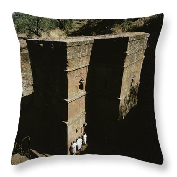 Bet Medhane Alem is the Throw Pillow by JAMES P. BLAIR