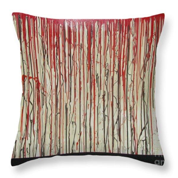 Betrayal Throw Pillow by Jacqueline Athmann