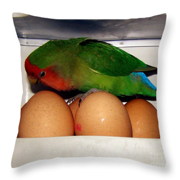 Big Ideas Throw Pillow by Terri Waters