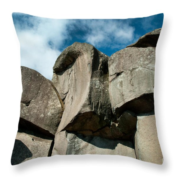 Big Rock Ear Throw Pillow by Paul W Faust -  Impressions of Light