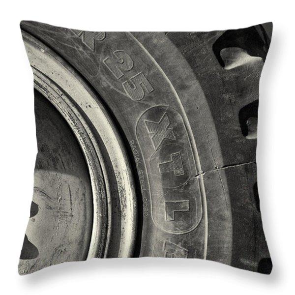 Big Wheel Throw Pillow by Patrick M Lynch