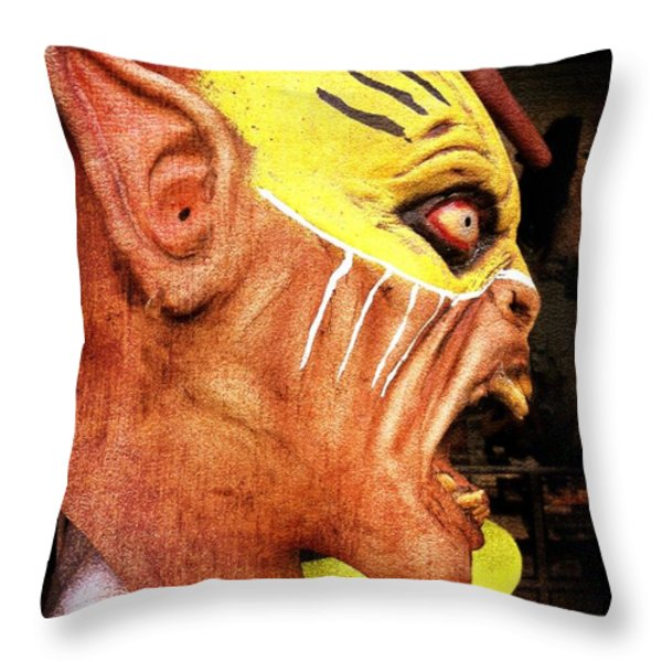 Billy Dont Be A Hero Throw Pillow by Skip Hunt