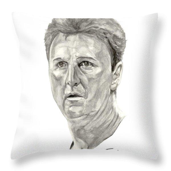 Bird Throw Pillow by Tamir Barkan