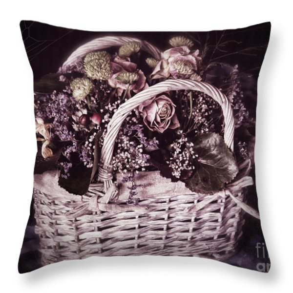 Bittersweet Memories Throw Pillow by Jutta Maria Pusl