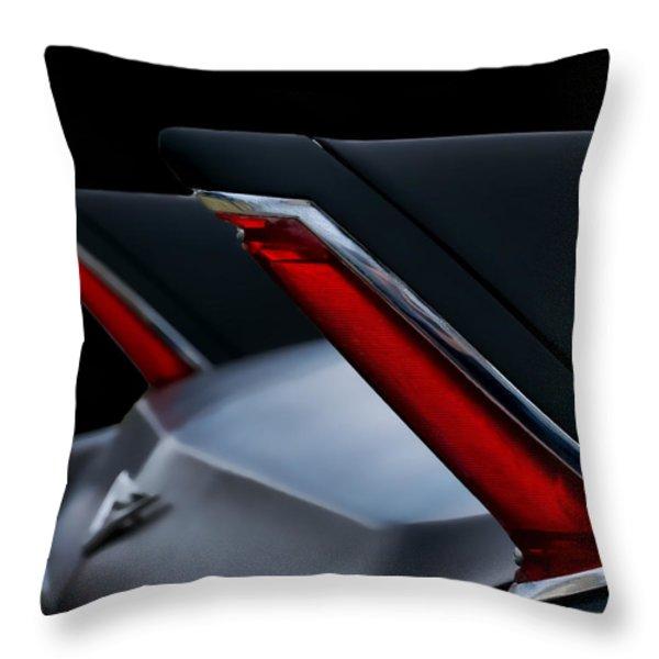 Black Fin Tuna Throw Pillow by Douglas Pittman
