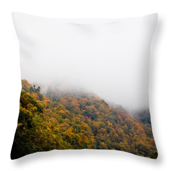 Blanket of Clouds Throw Pillow by DigiArt Diaries by Vicky B Fuller