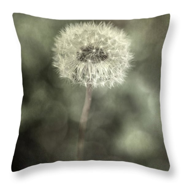 Blowball Throw Pillow by Joana Kruse
