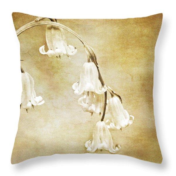 bluebell arch Throw Pillow by Meirion Matthias