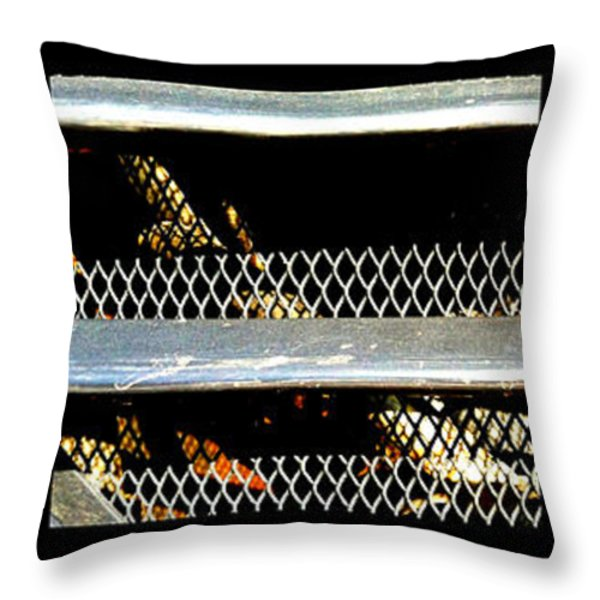 bobcat Throw Pillow by Marlene Burns
