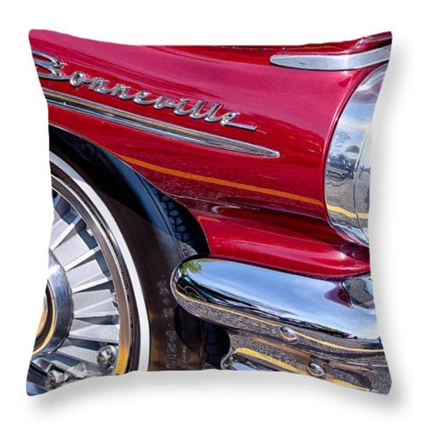 Bonneville Throw Pillow by Lauri Novak