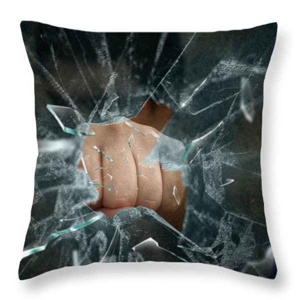Boom Throw Pillow by Svetlana Sewell