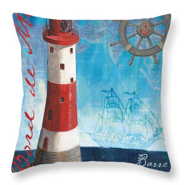 Bord de Mer Throw Pillow by Debbie DeWitt