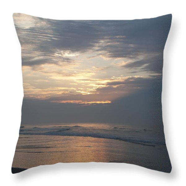 Breaking Through Throw Pillow by Bill Cannon
