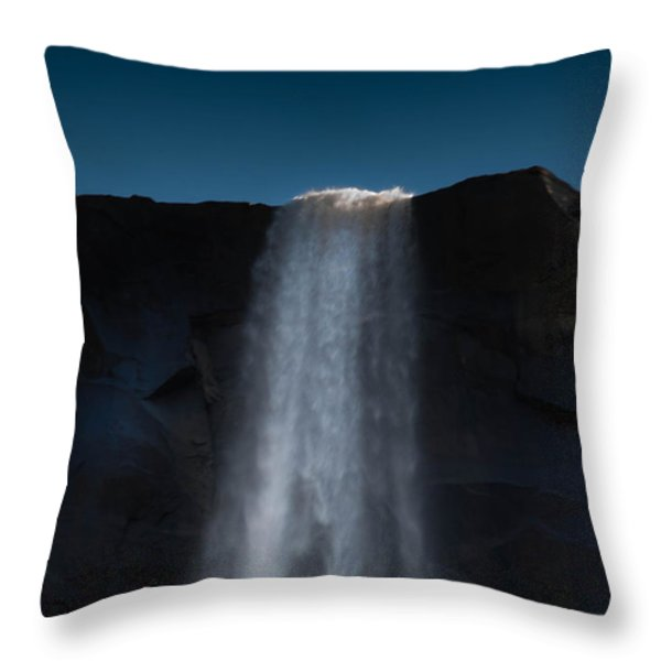 Bridal Veil Throw Pillow by Bill Gallagher