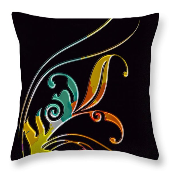 Broach  Throw Pillow by Mauro Celotti