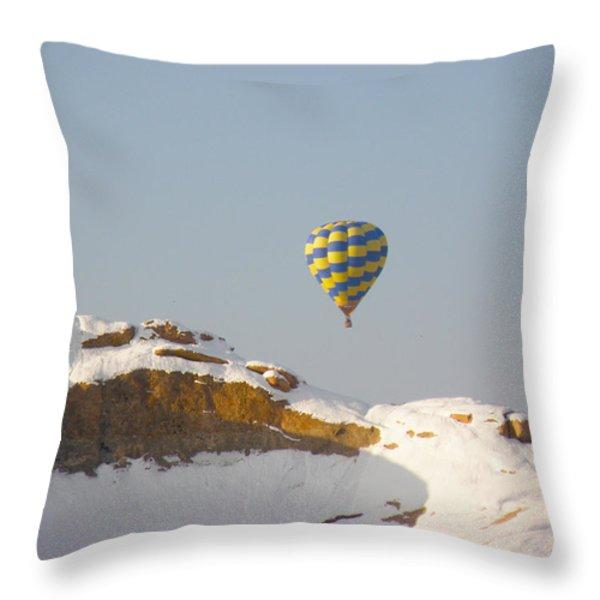 Brrrr Throw Pillow by FeVa  Fotos