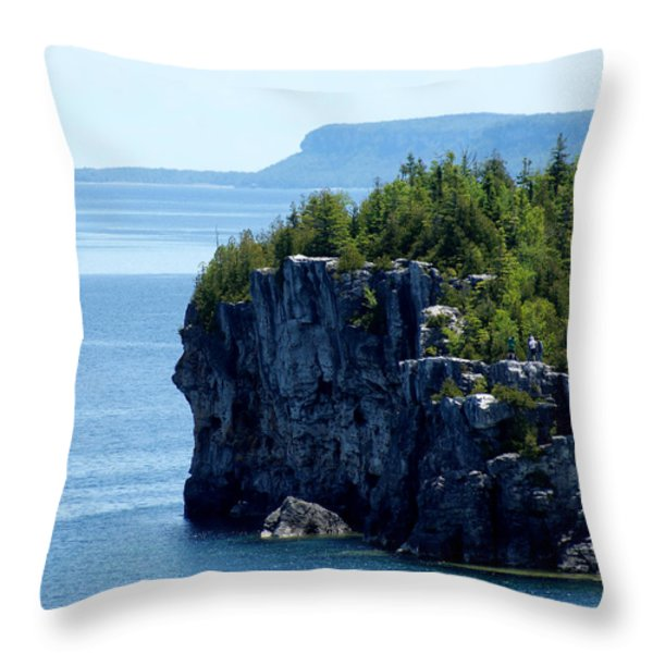Bruce Peninsula National Park Throw Pillow by Cale Best