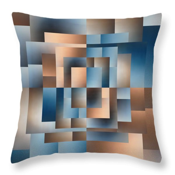 Brushed 15 Throw Pillow by Tim Allen