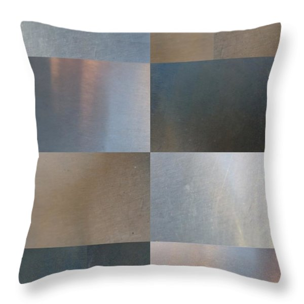 Brushed 24 Throw Pillow by Tim Allen