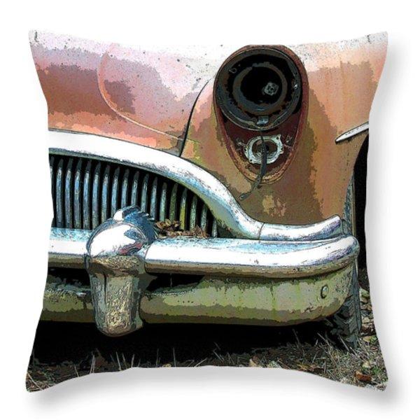 Buick Throw Pillow by Steve McKinzie
