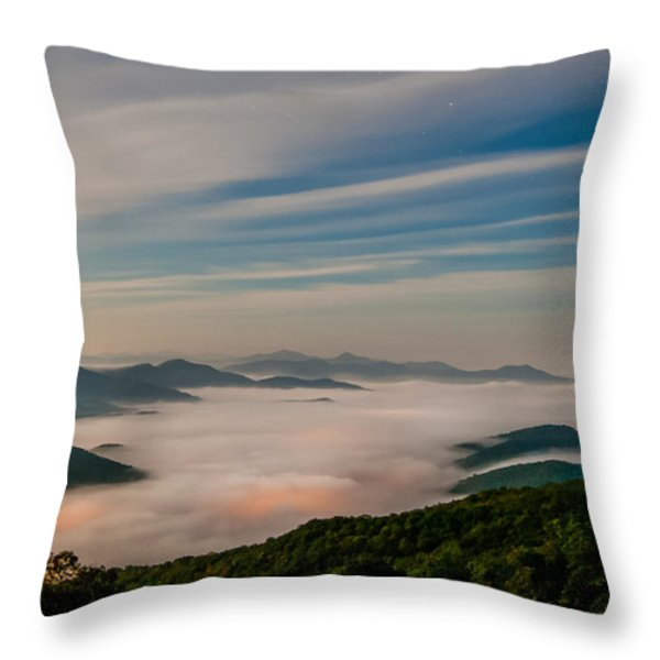 By The Light Of The Moon Throw Pillow by Joye Ardyn Durham