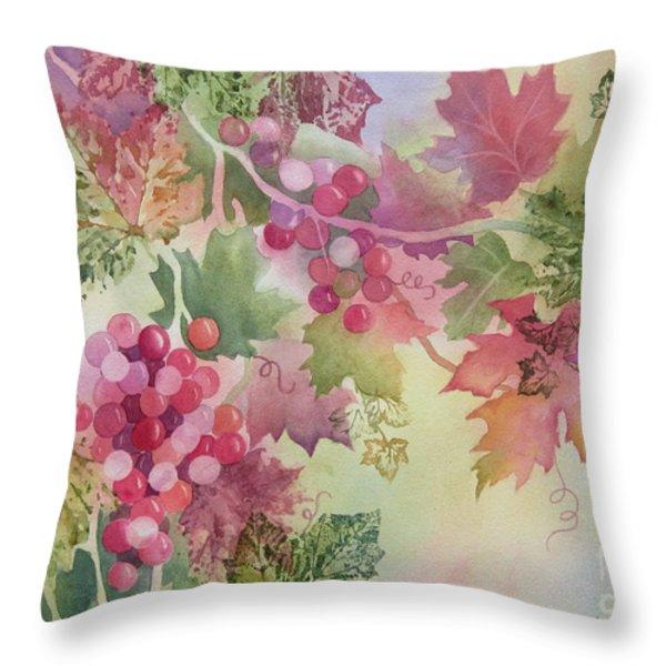 Cabernet Throw Pillow by Deborah Ronglien