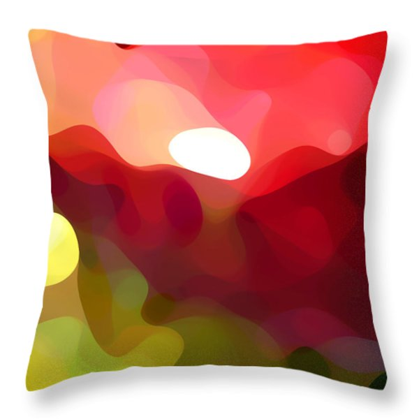 Cactus Resting Throw Pillow by Amy Vangsgard