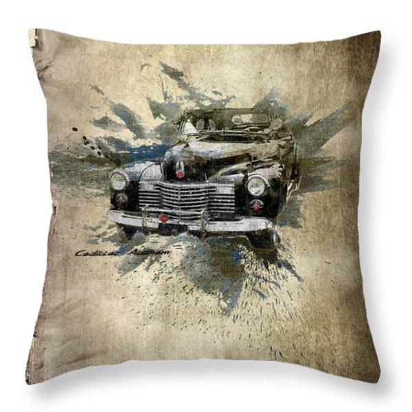 Cadillac Aldham Throw Pillow by Svetlana Sewell
