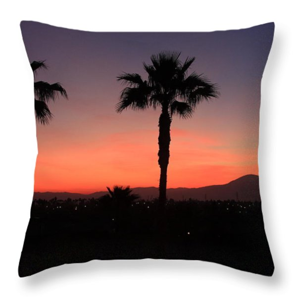California Dreamin Throw Pillow by Lyle Hatch