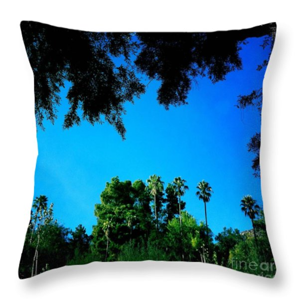 California Dreaming Throw Pillow by Nina Prommer