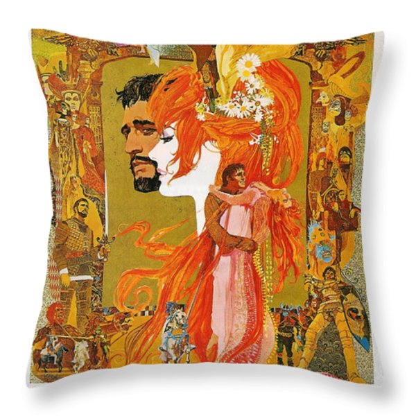 Camelot Throw Pillow by Nomad Art And  Design