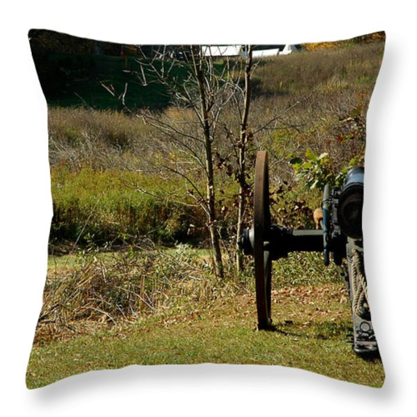 Canon Fire Color Throw Pillow by LeeAnn McLaneGoetz McLaneGoetzStudioLLCcom