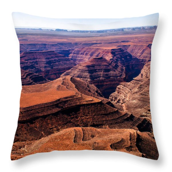 Canyonlands II Throw Pillow by Robert Bales