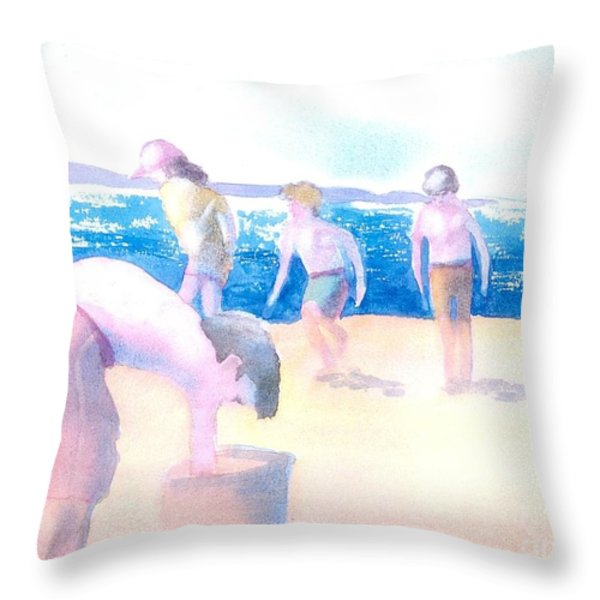 Cape Explorers Throw Pillow by Joseph Gallant