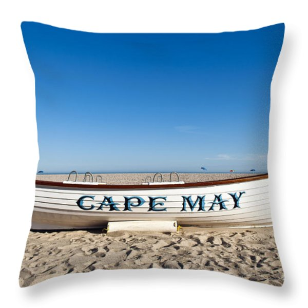 Cape May Throw Pillow by John Greim
