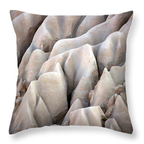 Cappadocia Rocks Throw Pillow by RicardMN Photography