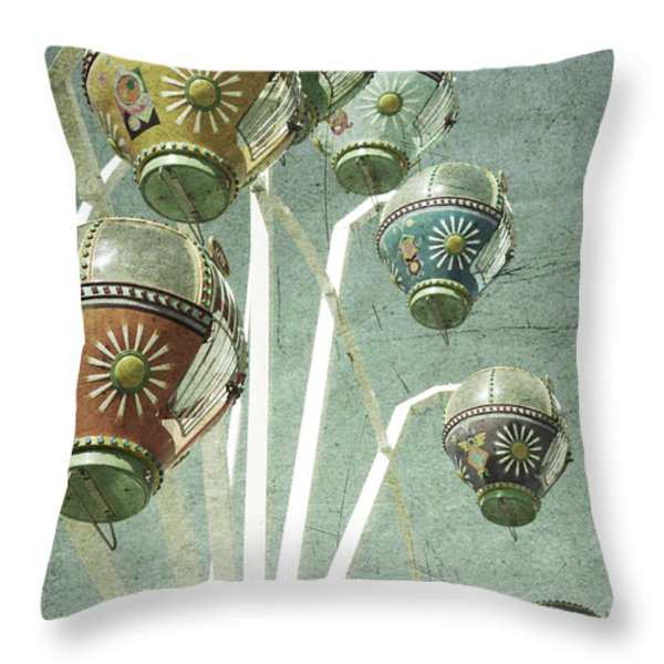Carnivale Throw Pillow by Andrew Paranavitana