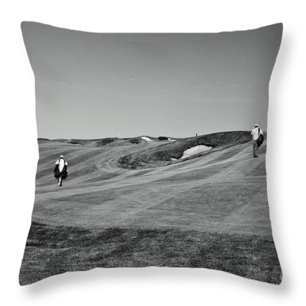 Carrying The Load Throw Pillow by Scott Pellegrin