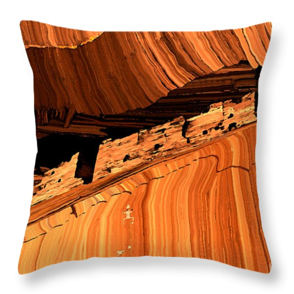 Casa Blanca Throw Pillow by Jerry McElroy