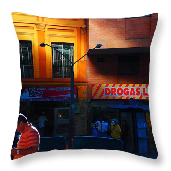 Casino Throw Pillow by Skip Hunt