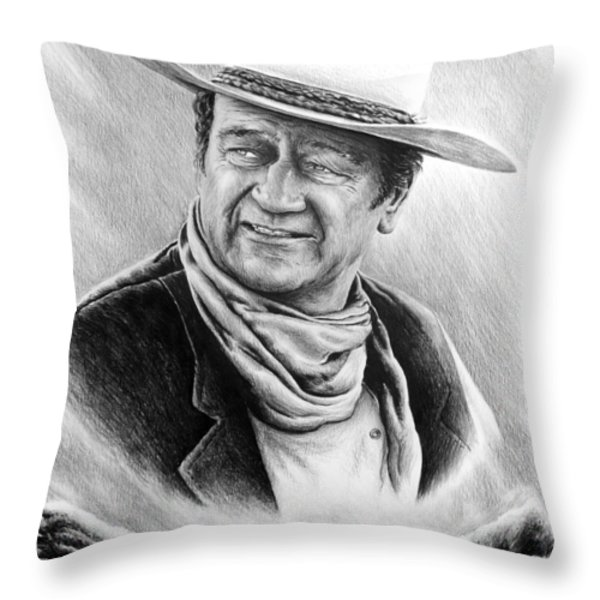 Cattle Drive bw edit 1 Throw Pillow by Andrew Read