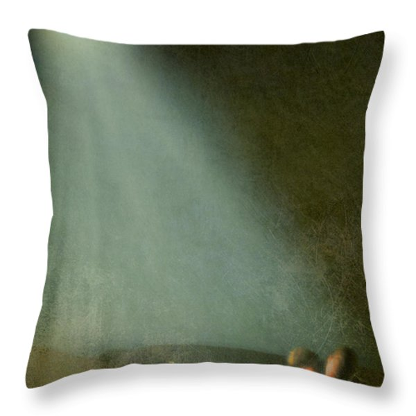 Caught In The Moonlight Throw Pillow by Jasna Buncic