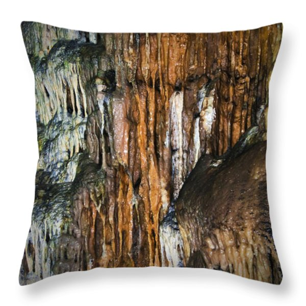 Cave02 Throw Pillow by Svetlana Sewell