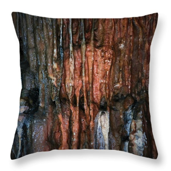 Cave05 Throw Pillow by Svetlana Sewell