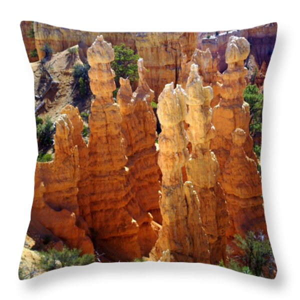 Cedar Breaks 1 Throw Pillow by Marty Koch