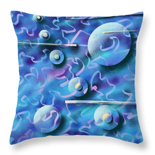 Celebration Throw Pillow by Hakon Soreide