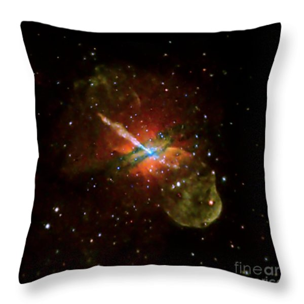 Centaurus A Throw Pillow by NASA