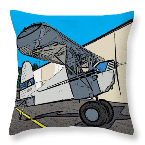 Cessie Throw Pillow by Steven Richardson