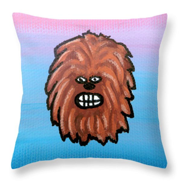 Chewy Throw Pillow by Jera Sky